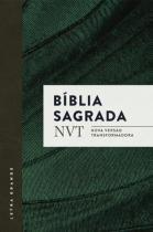 Biblia Sagrada Nvt - Verde - Letra Grande - Mundo cristao