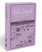Biblia Sagrada Pao Diario Lilas - Com Meditacoes - Rbc - 1
