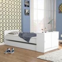 Bicama Barueri Branco Fosco - Branco - Politorno Móveis