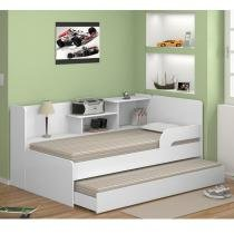 Bicama com estante 0740 branco - Multimóveis
