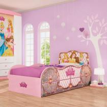 Bicama Infantil Princesas Disney Fun - Pura Magia - Pura Magia