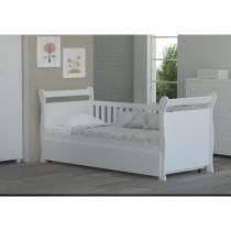 Bicama juliana branco brilho - ÚNICO - Reller móveis infantis