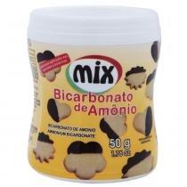 Bicarbonato de Amônia 50g - Mix -