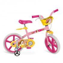 "Bicicleta 14"" Princesas Bela Disney - Bandeirante - Brinquedos Bandeirante"