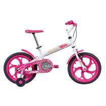 Bicicleta 16 Ceci Rosa e Branca - Caloi - Caloi