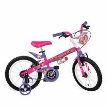 "Bicicleta 16"" Princesas Disney Cestinha Bandeirante - 2399 - Brinquedos bandeirante"