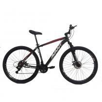 Bicicleta 3.0 Alumínio Freio a Disco 21V PT VM e BR Avant -