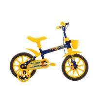 Bicicleta A12 Kids Arco-íris Track Bike Azul - Tk3