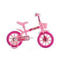 Bicicleta A12 Kids Arco-íris Track Bike Rosa - Tk3