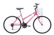 Bicicleta A26 18 Marchas Maori Houston Rosa - Comprenet