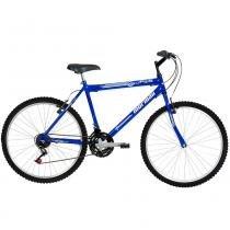 Bicicleta Aço Carbono Jaws Rígida 21 V Aro 26 Azul - Mormaii - Mormaii