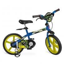 Bicicleta Adventure Aro 14 Azul Bandeirante -