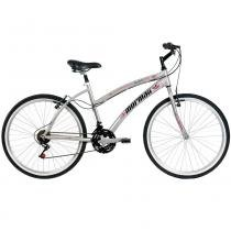 Bicicleta Alumínio Sunset Way Plus Aro 26 Prata - Mormaii - Mormaii