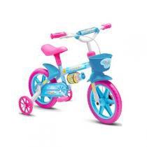 Bicicleta Aro 12 Aqua Feminina Nathor - Azul - Nathor