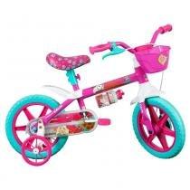 Bicicleta Aro 12 Barbie - Caloi - Caloi
