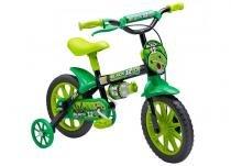 Bicicleta Aro 12 Black Masculina Nathor - Preta - Nathor
