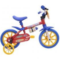 Bicicleta Aro 12 Cairu Fire Man Nathor - vermelho - Cairu