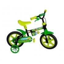 Bicicleta Aro 12 Cairu verde -