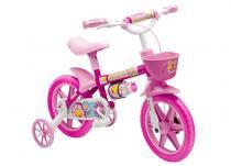 Bicicleta Aro 12 Flower Feminina Nathor - Rosa - Nathor