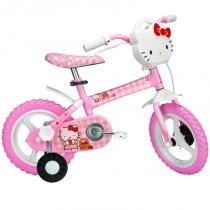 Bicicleta Aro 12 - Hello Kitty - Caloi -