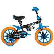 Bicicleta Aro 12 - Hot Wheels - Caloi -