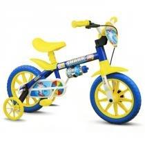 Bicicleta aro 12 infantil masculina shark nathor -
