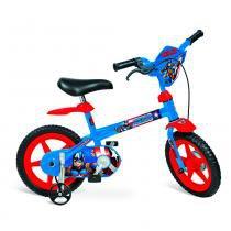 Bicicleta Aro 12 Marvel Capitão América - Bandeirante -
