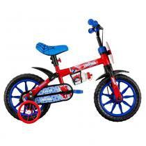 Bicicleta ARO 12 - Marvel - Spider-Man - Caloi - Caloi