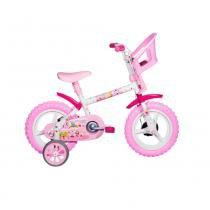 Bicicleta Aro 12 Princesinha - Styll Baby - Styll Baby