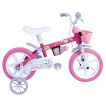 Bicicleta Aro 12 Tina Mini Rosa - Houston - Houston