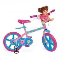 Bicicleta Aro 14 Baby Alive 2253 - Bandeirante - Brinquedos Bandeirante