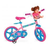 Bicicleta Aro 14 Baby Alive - Bandeirante - Bandeirante