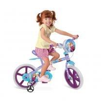 Bicicleta Aro 14 - Disney Frozen - Bandeirante - Bandeirante