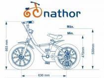 Bicicleta Aro 14 First Pro Quadro Aluminio Nathor Feminina -