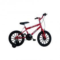 Bicicleta aro 16 bmx monark vermelha - Monark