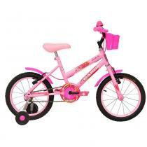 Bicicleta Aro 16 Cairu Fadinha - rosa - Cairu