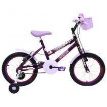 Bicicleta Aro 16 Cairu Fadinha - roxo - Cairu