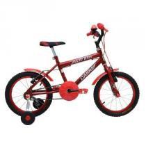 Bicicleta Aro 16 Cairu Racer Kids vermelho -