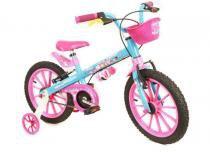Bicicleta Aro 16 Candy Infantil Feminina - Nathor