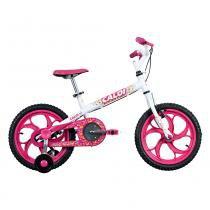 Bicicleta Aro 16 Ceci Branca - Caloi -