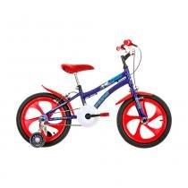 Bicicleta Aro 16 - Nic - Azul e Vermelho - Houston -