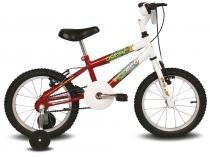 Bicicleta Aro 16 Ocean Branco e Vermelho - Verden - Outras Marcas
