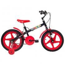 Bicicleta Aro 16 Rock Vermelha - Verden - Outras Marcas
