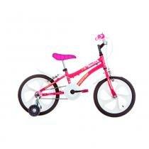 Bicicleta Aro 16 - Tina - Rosa - Houston -