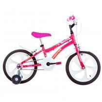 Bicicleta Aro 16 Tina Rosa Pink - Houston - Outras Marcas