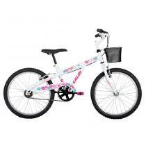 Bicicleta ARO 20 - Ceci A16 - Branca - Caloi - Caloi