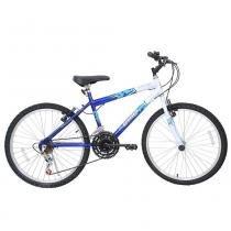 Bicicleta Aro 24 Cairu Flash - 21 Velocidades - azul - Cairu