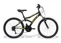 Bicicleta aro 24 caloi max front com marcha suspensão lançamento -