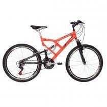 Bicicleta Aro 26 24 Marchas Big Rider Full Suspension Laranja - Mormaii - Mormaii