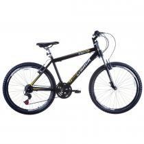 Bicicleta Aro 26 Alumínio Suspensão Dianteira TK600 Preto - Track Bikes - Preto - Track  Bikes